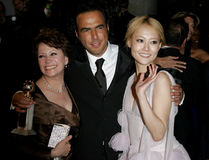 Alejandro Gonzalez Inarritu, Adriana Barraza y Rinko Kikuchi Fotos de archivo