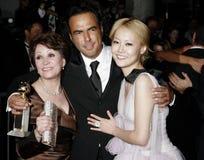Alejandro Gonzalez Inarritu, Adriana Barraza y Rinko Kikuchi Foto de archivo