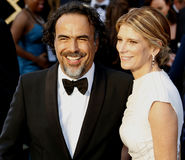Alejandro Gonzalez Inarritu and Maria Eladia Hagerman Stock Photo