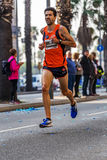 Alejandro Rodriguez Pritchard runner  of 10000m Royalty Free Stock Images