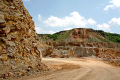 Alejd quarry Royalty Free Stock Photography