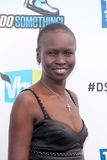 Alek Wek Royalty Free Stock Photo