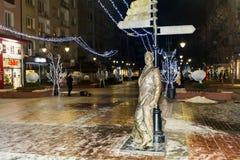 Aleko Konstantinov  statue on the street in Sofia Stock Image