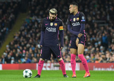 Lionel Messi and Neymar  Stock Photos