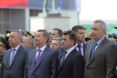 Aleksander Beglov, Sergey Ivanov, Andrey Vorobyov i Dmitry Rogo, Zdjęcia Royalty Free