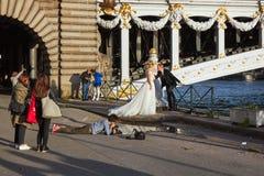 Aleksander 3 most zdjęcia royalty free