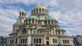 Aleksander N katedra obrazy stock