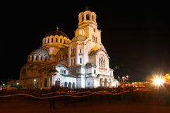 Aleksander Nevski Church Royalty Free Stock Photography
