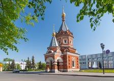 Aleksander Nevsky kaplica w Yaroslavl zdjęcia royalty free