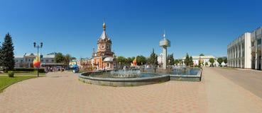 Aleksander Nevsky kaplica w Yaroslavl obraz royalty free