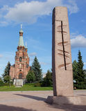 Aleksander Nevsky kościół w Tampere, Finalnd Obraz Stock