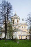 Aleksander Nevsky Lavra w Petersburg Rosja Zdjęcia Stock