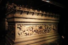Aleksander sarkofag przy muzeum Istanbuł Zdjęcia Royalty Free