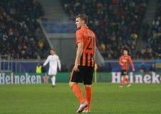 Aleksandr Gladkiy von Shakhtar Donetsk Stockfotos