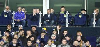 Aleksandr Yaroslavsky and Roman Abramovich Royalty Free Stock Photo