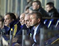 Aleksandr Yaroslavsky und Roman Abramovich Lizenzfreies Stockbild