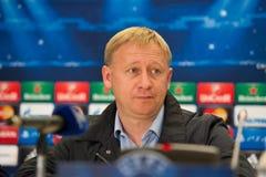 Aleksandr Yermakovich Listopad 5, 2014 Lviv, Ukraina Obraz Royalty Free