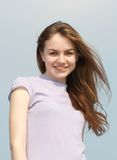 Aleksandra. Portrait of the young beautiful girl Stock Images