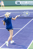 Aleksandra Wozniak em BNP Paribas aberto, Indian Wells, CA 2014 Fotografia de Stock