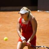 Aleksandra Wozniak - Internazionali BNL d'Italia Royalty Free Stock Photo