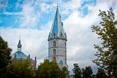Aleksandri Suurkirik Narvas,爱沙尼亚 免版税库存照片