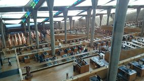 Aleksandria biblioteka Fotografia Stock