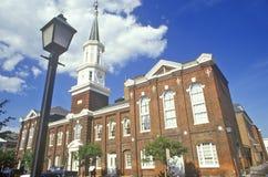 Aleksandria urząd miasta w Starym Grodzkim Aleksandria, Aleksandria, Waszyngton, DC Obrazy Stock