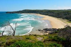 Aleksandria zatoka w Noosa parku narodowym w Queensland, Australia obraz royalty free
