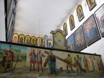 Aleksandrovskoe Compound in Jerusalem. Israel Royalty Free Stock Photography
