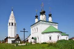 Aleksandrovsky monastery in Suzdal, Russia Royalty Free Stock Photos