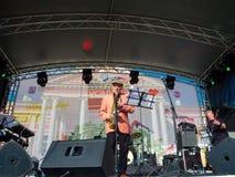 Aleksej Kozlov Arsenal group performs at Usadba Jazz Festival Stock Image