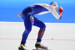 Aleksey Yesin - speed skating Royalty Free Stock Image