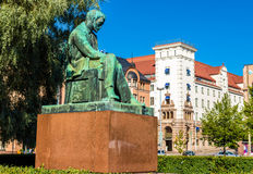 Aleksis Kivi statue in Helsinki Stock Photography