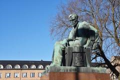 Aleksis Kivi statue, Helsinki Stock Photography