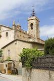 Alella church Stock Image