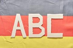 Alemán ABC Imagen de archivo