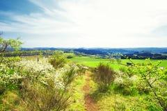 Alemán Eifel del paisaje imágenes de archivo libres de regalías