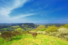 Alemán Eifel del paisaje Imagen de archivo libre de regalías