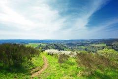 Alemán Eifel del paisaje fotografía de archivo libre de regalías