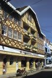 Alemán-mirada del edificio en el Brasil meridional Fotografía de archivo