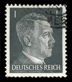 Alemán Reich Postage Stamp a partir de 1941 fotografía de archivo libre de regalías