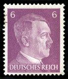 Alemán Reich Postage Stamp a partir de 1941 fotografía de archivo