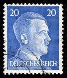 Alemán Reich Postage Stamp a partir de 1945 fotos de archivo