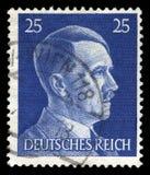 Alemán Reich Postage Stamp a partir de 1945 imagen de archivo