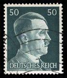 Alemán Reich Postage Stamp a partir de 1945 foto de archivo libre de regalías