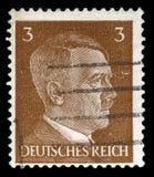 Alemán Reich Postage Stamp a partir de 1941 imágenes de archivo libres de regalías