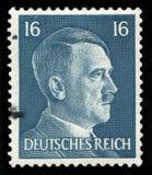 Alemán Reich Postage Stamp a partir de 1942 fotografía de archivo