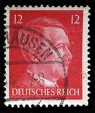 Alemán Reich Postage Stamp a partir de 1942 imágenes de archivo libres de regalías
