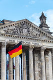 Alemán Reichstag en Berlín, Alemania Fotografía de archivo