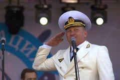 Alemán Yelianyushkin, jefe del canal de Moscú imagen de archivo libre de regalías